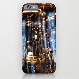 Play Of Light Of Wineglasses iPhone Case