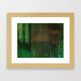 Neon Shadow Framed Art Print