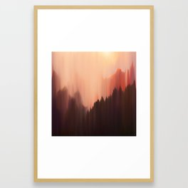 Afternoon Sun Framed Art Print