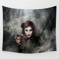 witch Wall Tapestries featuring WITCH by CABINET