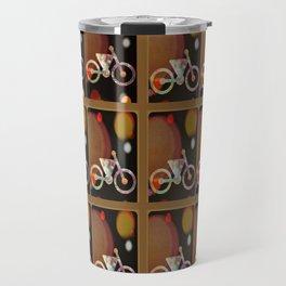 Bicycle Brown Derby Travel Mug