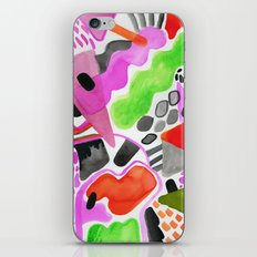 Vibrance Watercolour  iPhone & iPod Skin
