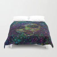 selena gomez Duvet Covers featuring Beautiful Selena  by Amy Anderson