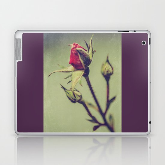Blushing Bud Laptop & iPad Skin