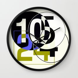 SRC Preparatins Race Numbers Two Wall Clock