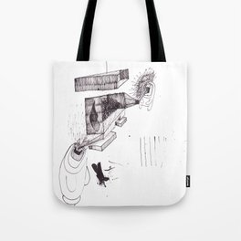 two brothers. Scream and Shout. Tote Bag