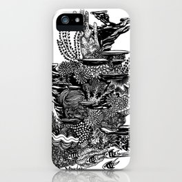 Coral Tower iPhone Case