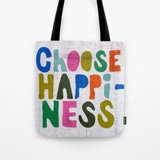 Choose Happiness Tote Bag