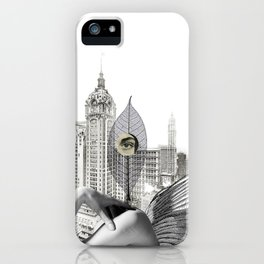 I wanted to be mean person iPhone Case