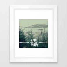 Wild Thing: Skagit Valley, Washington Framed Art Print