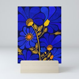 Wildflower Garden Mini Art Print