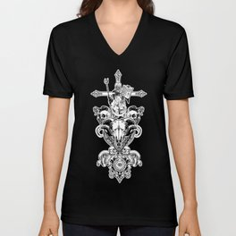FAITH IN NOTHING Unisex V-Neck