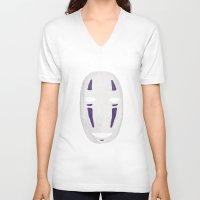 chihiro V-neck T-shirts featuring Chihiro by Angelus