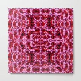 Spring exploit floral pattern second version Metal Print