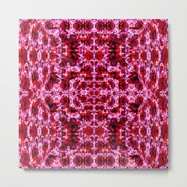 Spring exploit floral pattern second version Metal Print