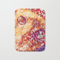 Socca The Cat Expressionism Impressionism  Pop Art Bath Mat