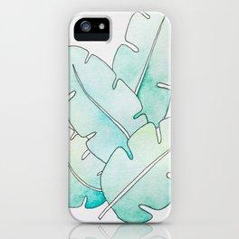 Tropical Watercolors iPhone Case