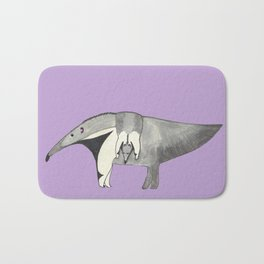 Mom and Baby Anteater Bath Mat