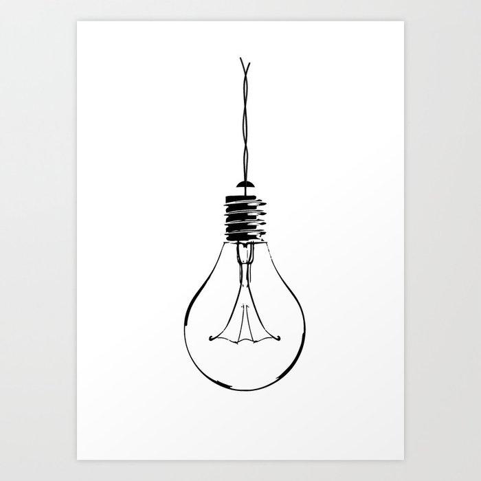 Light Bulb Kunstdrucke