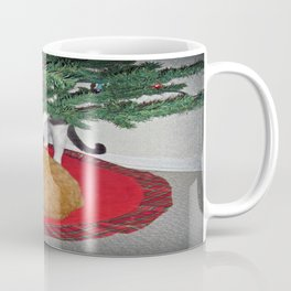 12 cats a-climbing Coffee Mug