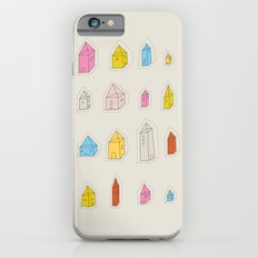 Transparent Houses Slim Case iPhone 6s
