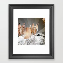 Will You Marry Us? Framed Art Print