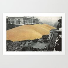 a day of remembrance Art Print