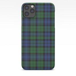 Clan Campbell Tartan iPhone Case