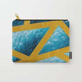 Blue Waves Carry-All Pouch