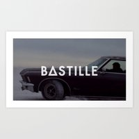 bastille Art Prints featuring Bastille by ~~a~~k~~a~~
