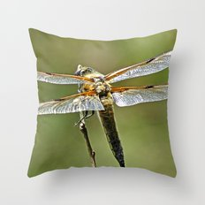 MM - Dragonfly Throw Pillow
