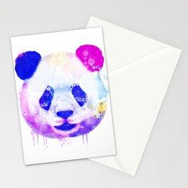Panda Watercolor, Panda Print, Watercolor Print, Watercolor Animal, Panda Painting, Panda Gift Print Stationery Cards