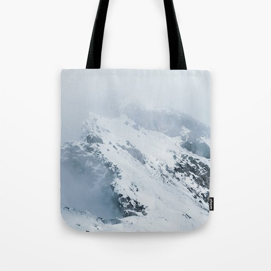 Old Mountain - Minimalist Landscape Photography Tote Bag