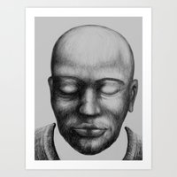 Mjomba Art Print