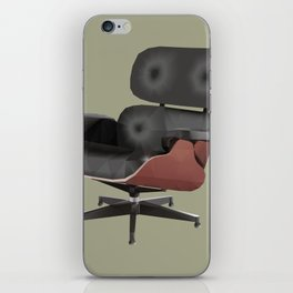 Eames Lounge Chair Polygon Art iPhone Skin