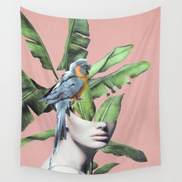 Tropical Girl  2 Wall Tapestry