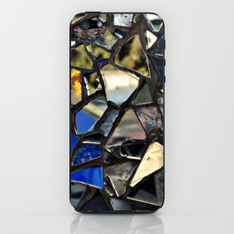 Closeup (PHOTO) of a Glass Mosaic iPhone Skin