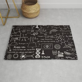 Science Madness Rug