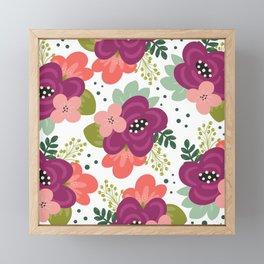 Blooming Florals Framed Mini Art Print