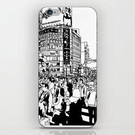 Shibuya Crossing, Tokyo iPhone Skin