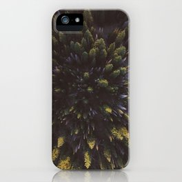 Trees from above iPhone Case