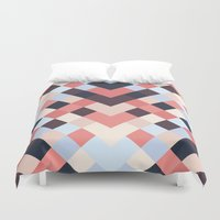 coral Duvet Covers featuring CORAL by Sorbetedelimon