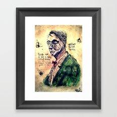 W. B. Yeats Framed Art Print