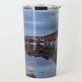 Pans Rocks Sunset II Travel Mug