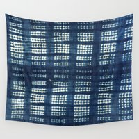 indigo Wall Tapestries featuring Indigo by PbyE