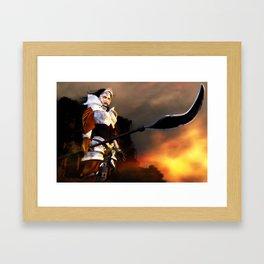 Valkyria Framed Art Print