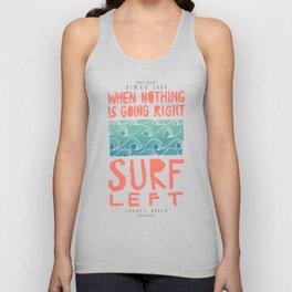 Surf Left Unisex Tank Top