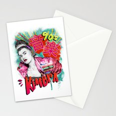 Kimbra 90s Music Stationery Cards