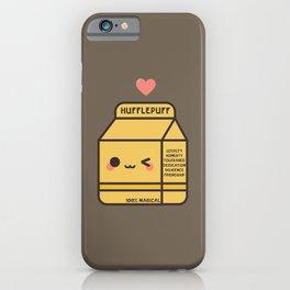 Kawaii Hufflepuff iPhone Case