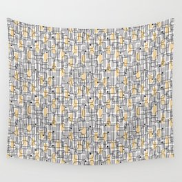 City with lights Wall Tapestry